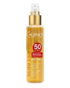 Guinot_SPF50 Huile Seche SOLAIRE